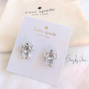 New Kate Spade make me blush earrings